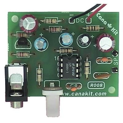 Dynamic Microphone Amplifier