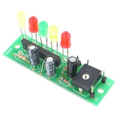 5-LED VU-Meter