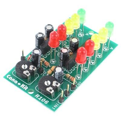 10-LED Stereo VU-Meter