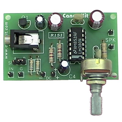 4W Amplifier with Microphone Pre Amp