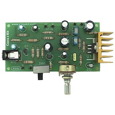 10W Audio Amplifier with Microphone Pre Amp