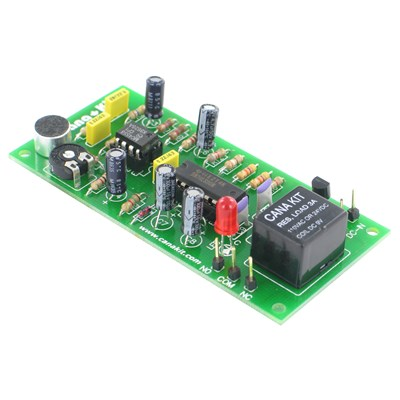 Clap On / Clap Off Relay Switch (Sound Switch)