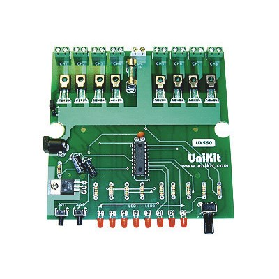 8-Channel / 20-Program DC Light Chaser / Controller