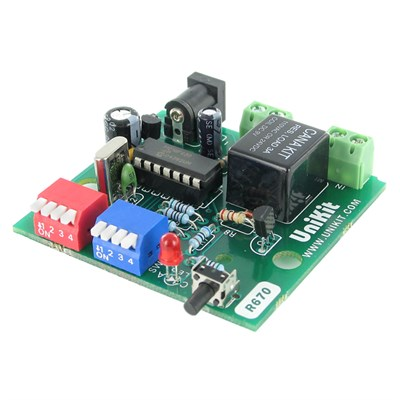 Cyclic (Repeat) PIC Digital Timer with Relay (1 to 15 Sec/Min/Hour)