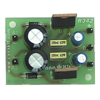 12V / 200 mA Symmetrical Regulated Power Supply